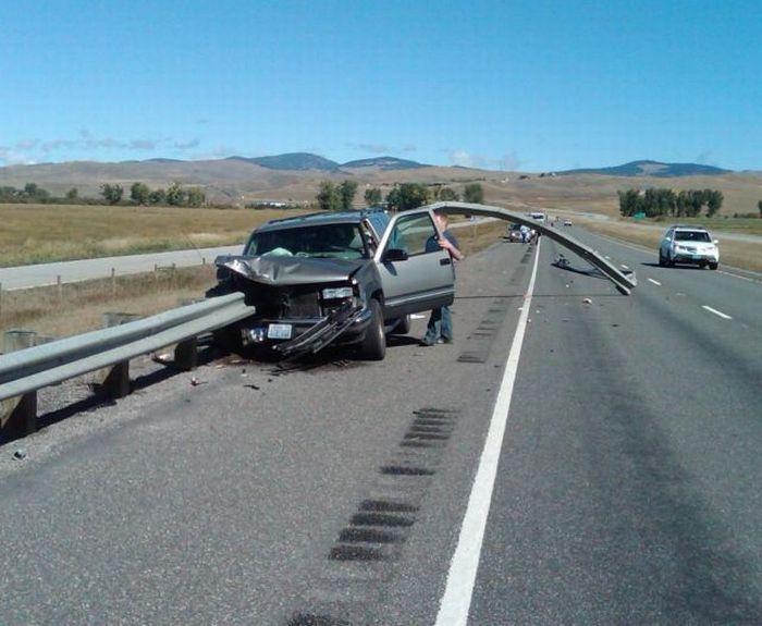 تصادف وحشتناک عکس