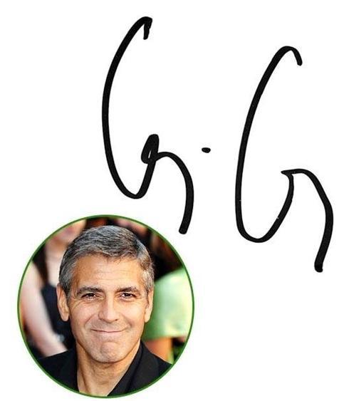 امضاء بازیگران معروف هالیوود + عکس