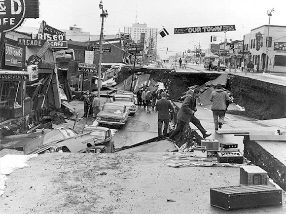 زلزله شهر کام چاتکا در روسیه – شدت 9 ریشتر – 4 نوامبر 1952