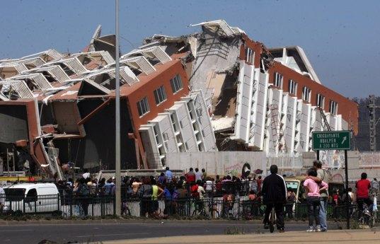 زلزله شهر مائول شیلی – شدت 8.8 ریشتر – 27 فوریه 2010