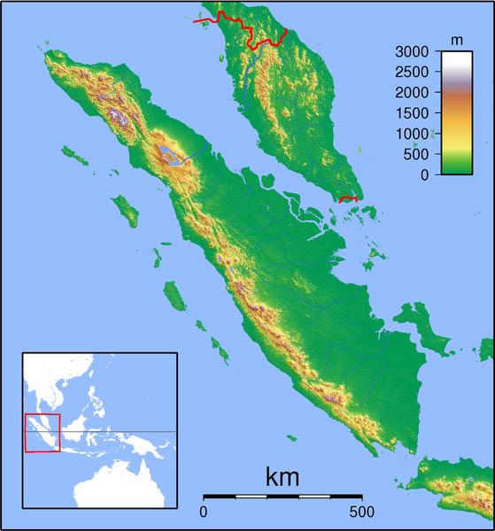 زلزله شهر سوماترای اندونزی – شدت 8.8 ریشتر – 25 نوانبر 1833