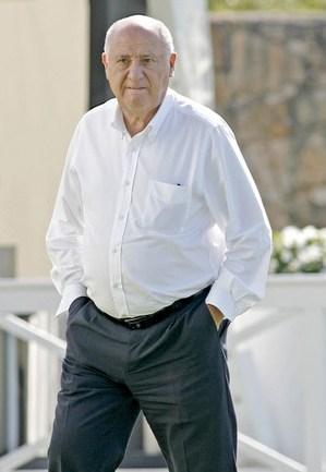 آمانسیو اورتگا – اسپانیا – میزان دارایی 31 میلیارد دلار