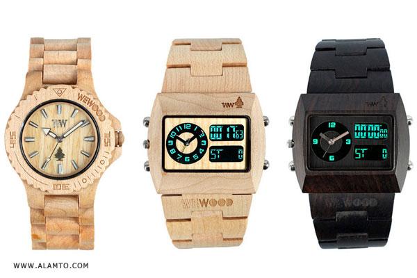 مدل ساعت مچی جدید و زیبا 2011 - طرح چوب