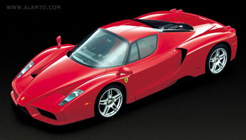 پنج خودرو گران قیمت جهان + عکس - فراری انزو