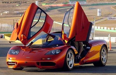 پنج خودرو گران قیمت جهان + عکس - مک لارن اف 1