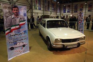 عکس های خودروی پژو 504 احمدی نژاد در نمایشگاه بین المللی کلاسیک