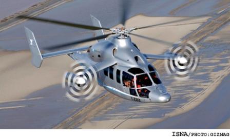 سریعترین هلیکوپتر جهان باسرعت 430 کیلومتر در ساعت (+عکس)
