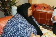 چاق ترین زن ایرانی (+عکس)