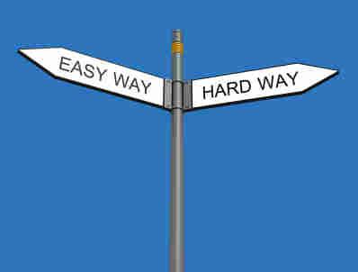 تفاوت بین آسان و مشکل (جملات فلسفی)