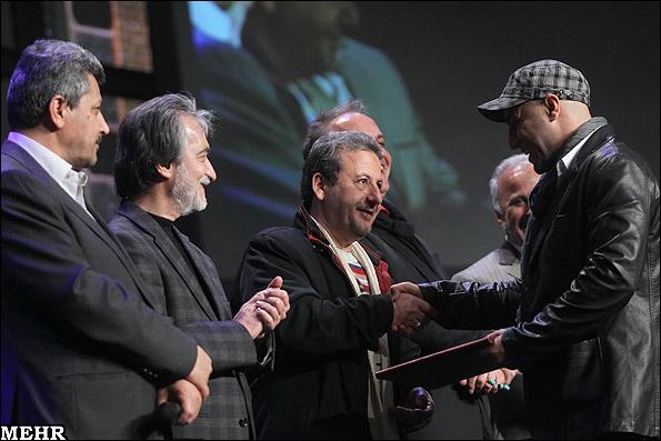 عکس های بازیگران در اختتامیه جشنواره فیلم فجر 89 | www.Alamto.Com