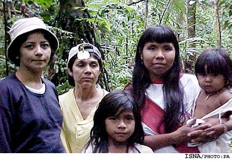 کشف قبیله ای عجیب در برزیل!! + عکس