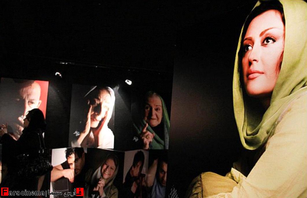 عکس های جنجالی بازیگران در نمایشگاه گلبرگ ها | www.Alamto.Com