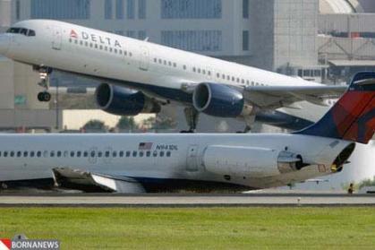 حادثه در بزرگترین شرکت هواپیمایی دنیا +عکس