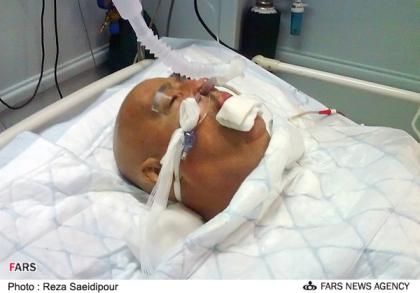 ناصر حجازی لحظاتی قبل از مرگ (عکس)