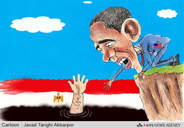 کاریکاتور های قیام مردم مصر | www.Alamto.Com