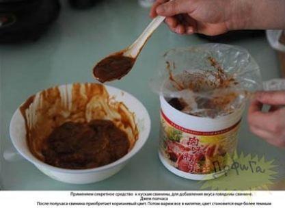 تبدیل گوشت خوک به گوشت گاو در چین!! +عکس