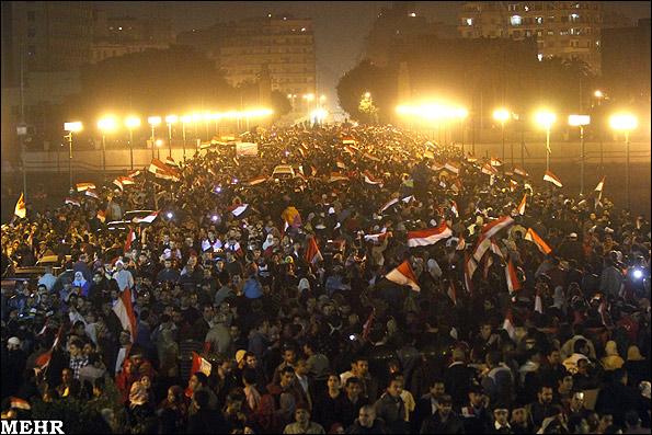 عکس هایی از جشن و شادی مردم مصر | www.Alamto.Com
