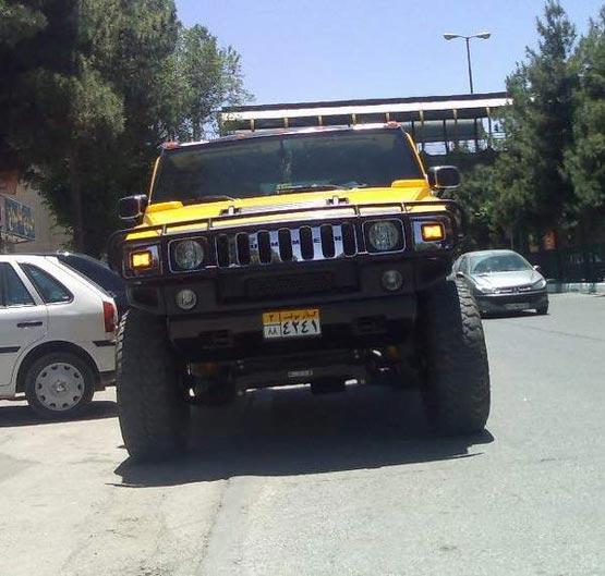 عکس: اتومبیل های مدرن در خیابان های تهران! | www.Alamto.Com