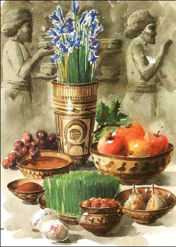 کارت پستال های بسیار زیبا برای تبریک عید نوروز 1390