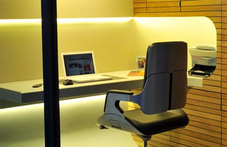 عکس: اتاق کار جالب و قابل حمل!! | www.Alamto.Com