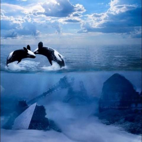 عکس هایی جالب و دیدنی از پایان دنیا!! | www.Alamto.Com