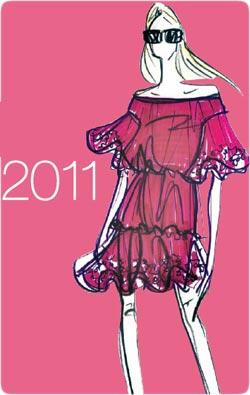 اعلام رنگ مد سال ۲۰۱۱ و بهار ۹۰