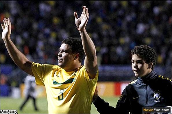 رونالدو از فوتبال خداحافظی کرد! (+عکس)