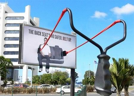 عکس هایی جالب از تبلیغات مبتکرانه
