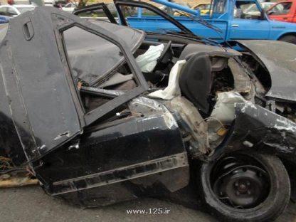 تصادف مرگبار در بزرگراه یادگارامام تهران! +تصاویر | www.Alamto.Com