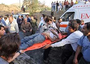 9 کشته در پی تصادف مینی بوس دانشگاه پیام نور!