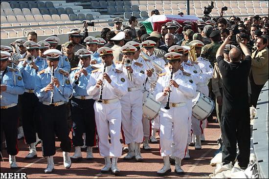 گزارش تصویری از مراسم تشییع پیکر ناصر حجازی | www.Alamto.Com