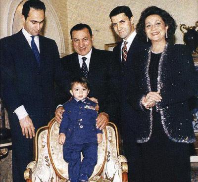 ازدواج حسنی مبارک با هنرپیشه مصری + عکس