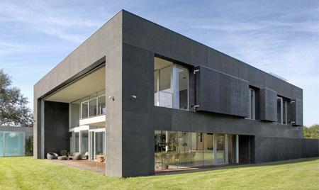 خانه ای جالب با طراحی خاص و امنیت بالا! +عکس | www.Alamto.Com