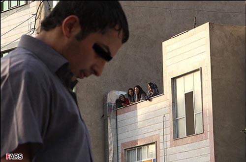 عکس های گرداندن «میثم خوشگله» در خیابانهای تهران