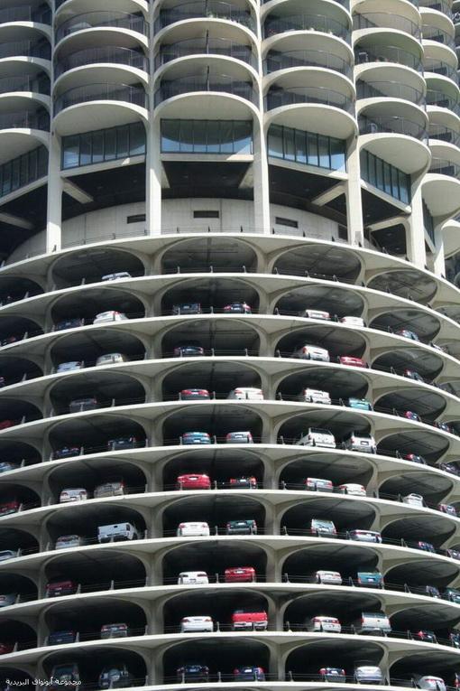 پارکینگهای طبقاتی مدرن (عکس)