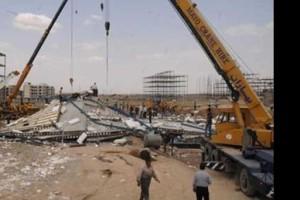 2 کشته و 5 زخمی در اثر ریزش ساختمان مسکن مهر +تصاویر | www.Alamto.Com
