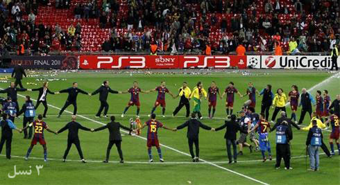 تفاوت جشن قهرمانی فوتبال در ایران و اروپا (تصاویر) | www.Alamto.com