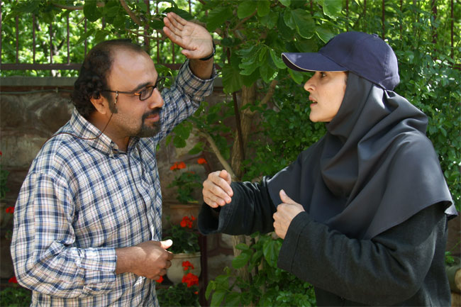 گزارش تصویری: فیلم ورود آقایان ممنوع | www.Alamto.Com