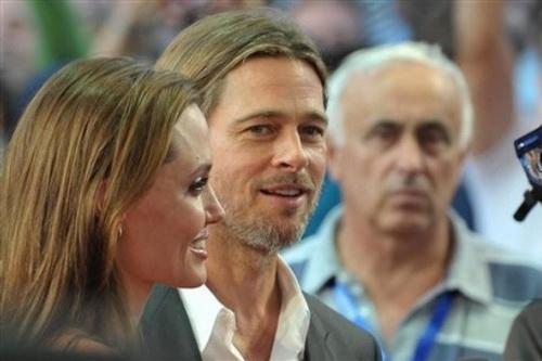 حضور غیرمنتظره آنجلینا جولی و براد پیت در اختتامیه جشنواره سارایوو