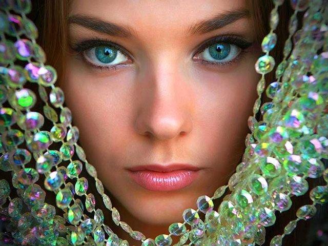 زیبا ترین و ناز ترین چشم های دنیا...