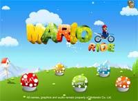 بازی موتور سواری جذاب Mario Ride