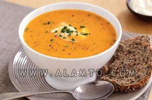 آموزش پخت سوپ پیازچه