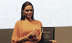 تمایل آنجلینا جولی برای بازی در فیلمی ایرانی