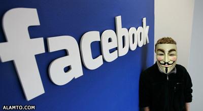 وعده نابودی فیس بوک در روز پنجم نوامبر !