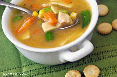 راههای درمان سرماخوردگی,مصرف سوپ در درمان سرماخوردگی