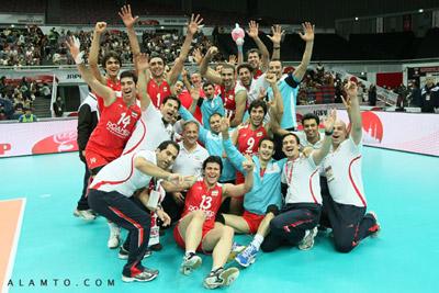 شکست تیم ملی والیبال ایران برابر آمریکا !