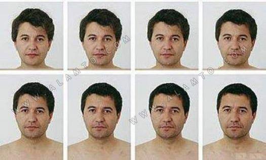 مراحل تغییر ظاهر یک زن به مرد!