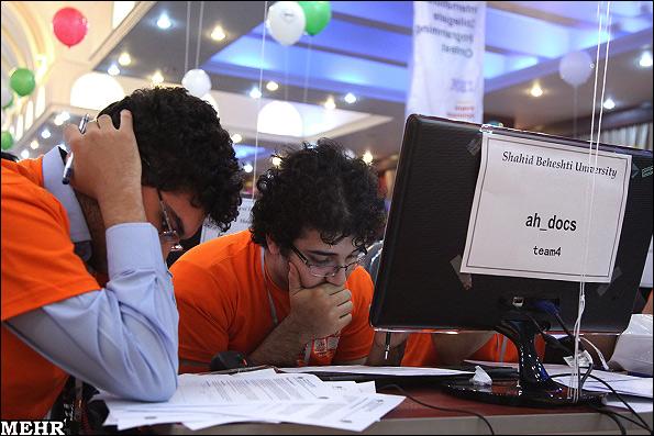 گزارش تصویری / مسابقات برنامه نویسی ACM
