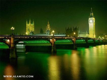 عکس پل Westminster - انگلیس
