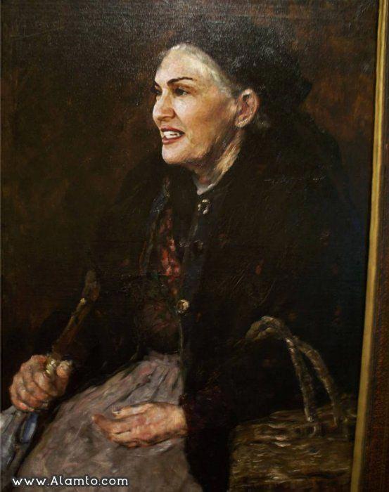 عکس بازیگران معروف هالیود در قالب نقاشی های کلاسیک قدیمی - عکس Madonna